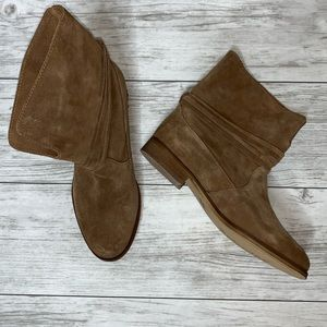 Splendid Tan Leather Boots Size 7 NWOT